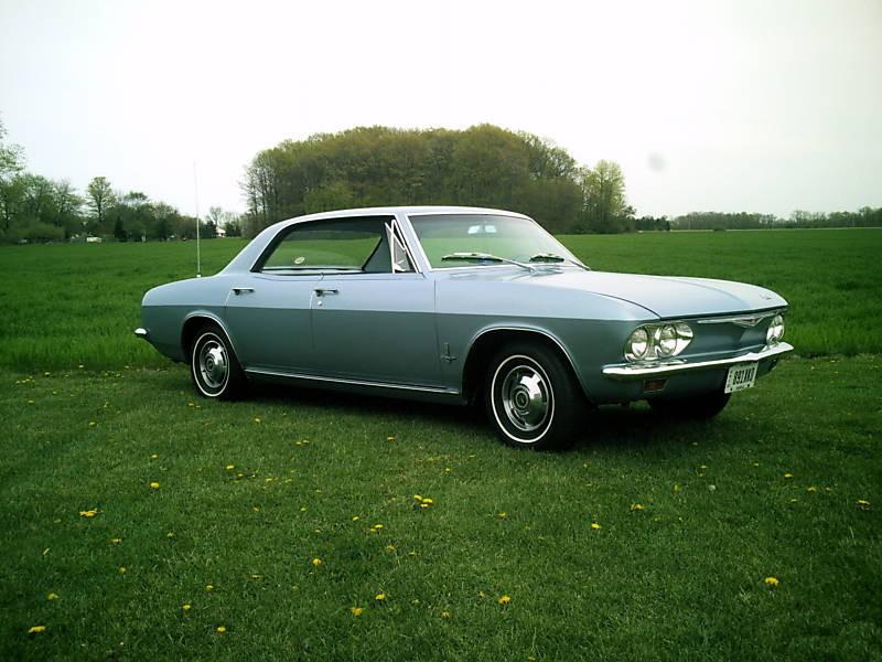Chevrolet Corvair хардтоп, 1965, 2 поколение - отзывы, фото и характеристики на Car.ru