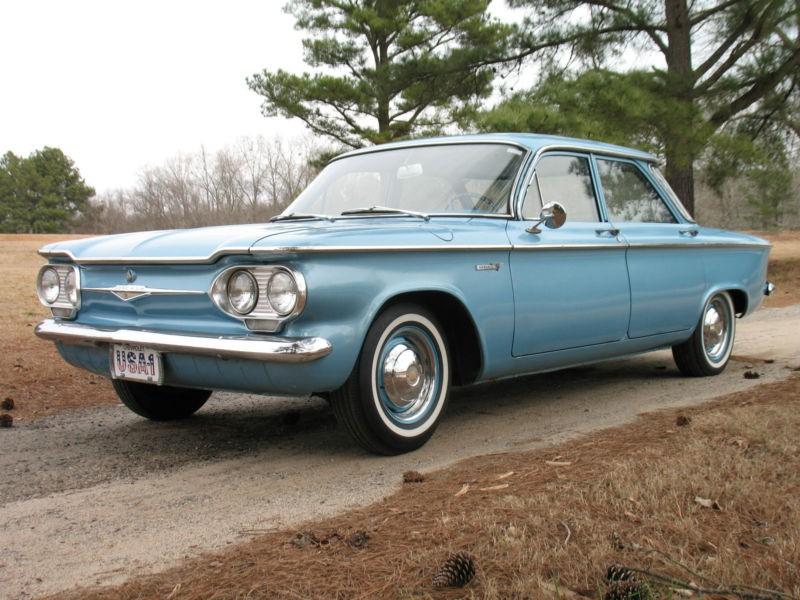 Chevrolet Corvair седан, 1961–1965, 1 поколение [рестайлинг] - отзывы, фото и характеристики на Car.ru