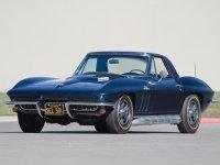 Chevrolet Corvette, C2 [3-й рестайлинг], Sting ray родстер, 1966