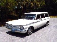 Chevrolet Corvair, 1 поколение [2-й рестайлинг], Универсал, 1962