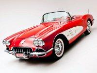 Chevrolet Corvette, C1 [2-й рестайлинг], Родстер, 1957–1958
