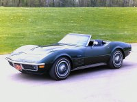 Chevrolet Corvette, C3 [рестайлинг], Sting ray кабриолет, 1970–1972