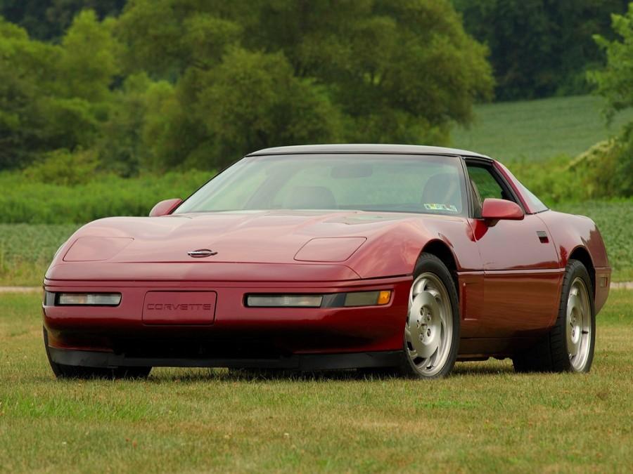 Chevrolet Corvette тарга 2-дв., 1991–1996, C4 [2-й рестайлинг] - отзывы, фото и характеристики на Car.ru