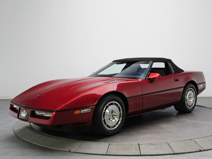 Chevrolet Corvette родстер, 1988–1990, C4 [рестайлинг] - отзывы, фото и характеристики на Car.ru