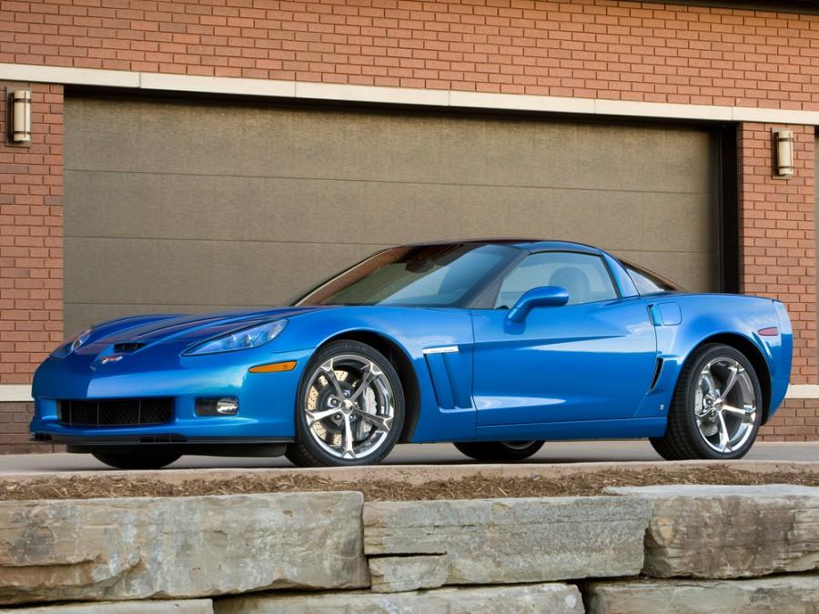 Chevrolet Corvette Grand Sport тарга 2-дв., 2006–2013, C6 [рестайлинг] - отзывы, фото и характеристики на Car.ru