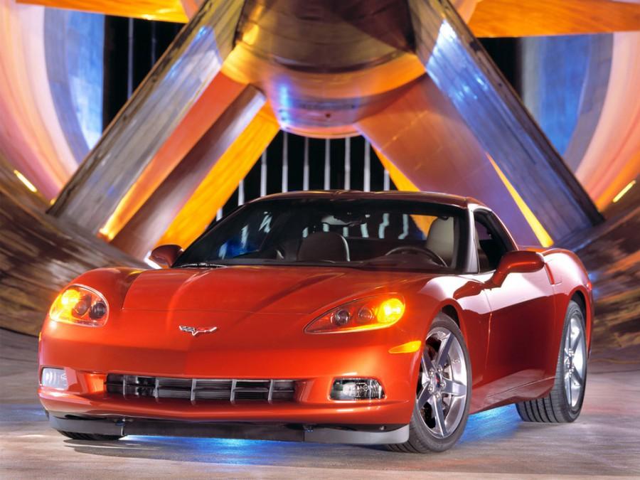 Chevrolet Corvette тарга, 2004–2008, C6 - отзывы, фото и характеристики на Car.ru
