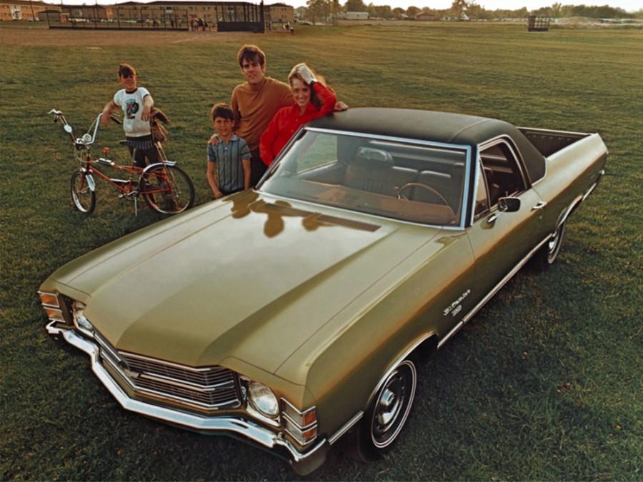Chevrolet El Camino пикап, 1971, 3 поколение [3-й рестайлинг] - отзывы, фото и характеристики на Car.ru