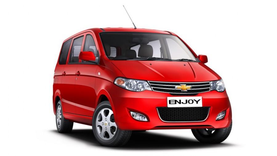 Chevrolet Enjoy минивэн, 2011–2016, 1 поколение - отзывы, фото и характеристики на Car.ru