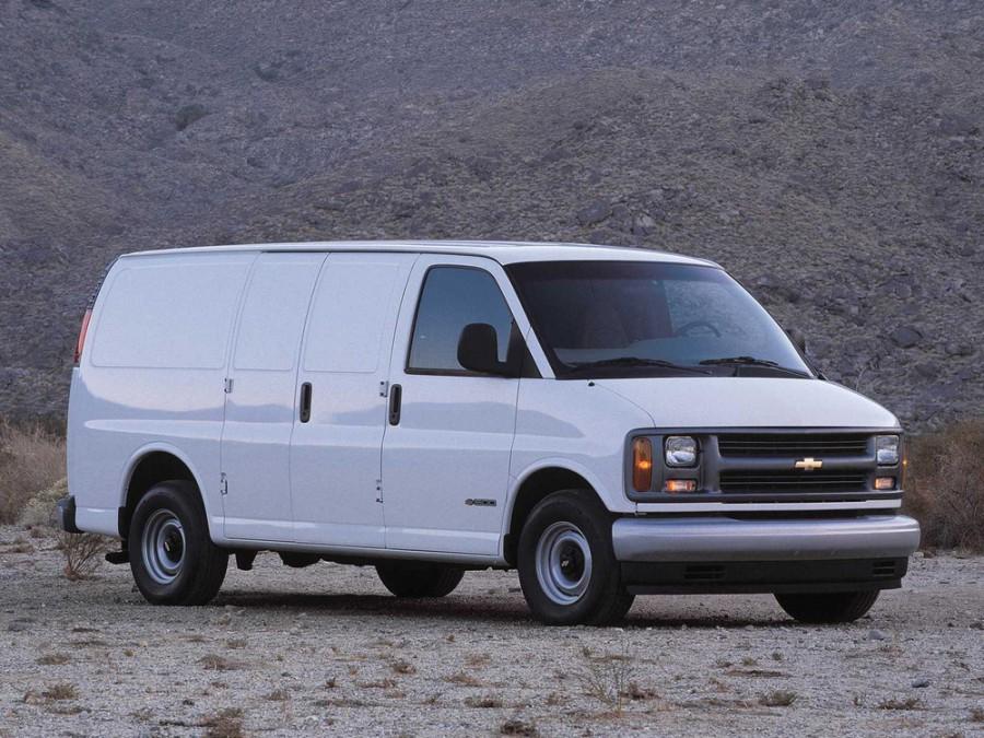 Chevrolet Express фургон, 1996–2002, 1 поколение - отзывы, фото и характеристики на Car.ru