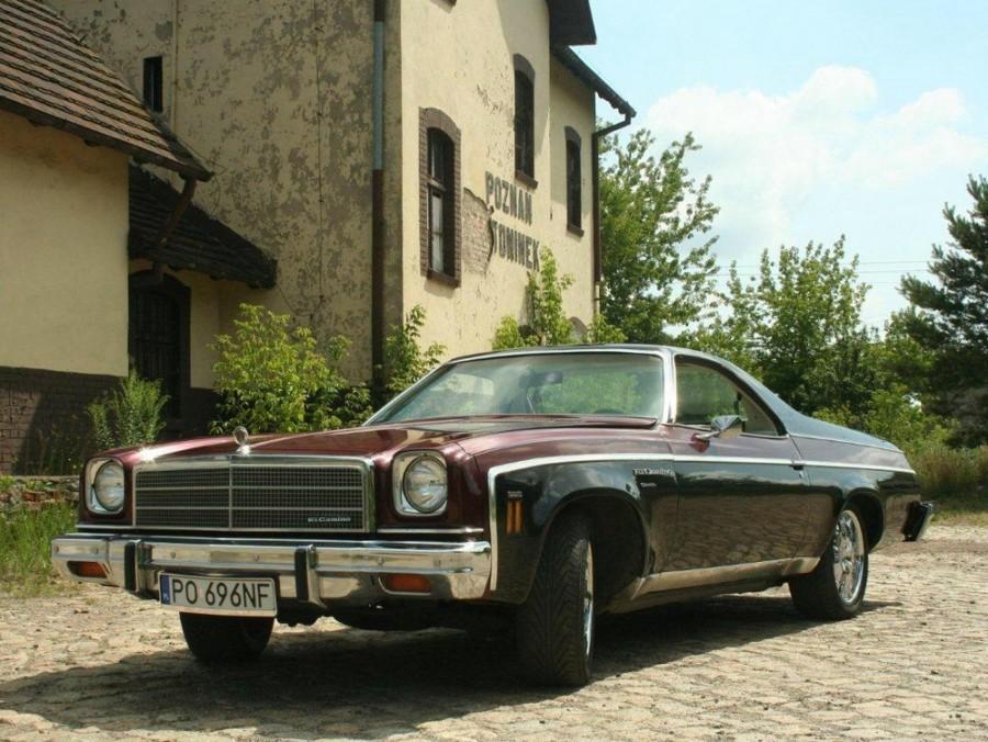 Chevrolet El Camino пикап, 1974, 4 поколение [рестайлинг] - отзывы, фото и характеристики на Car.ru