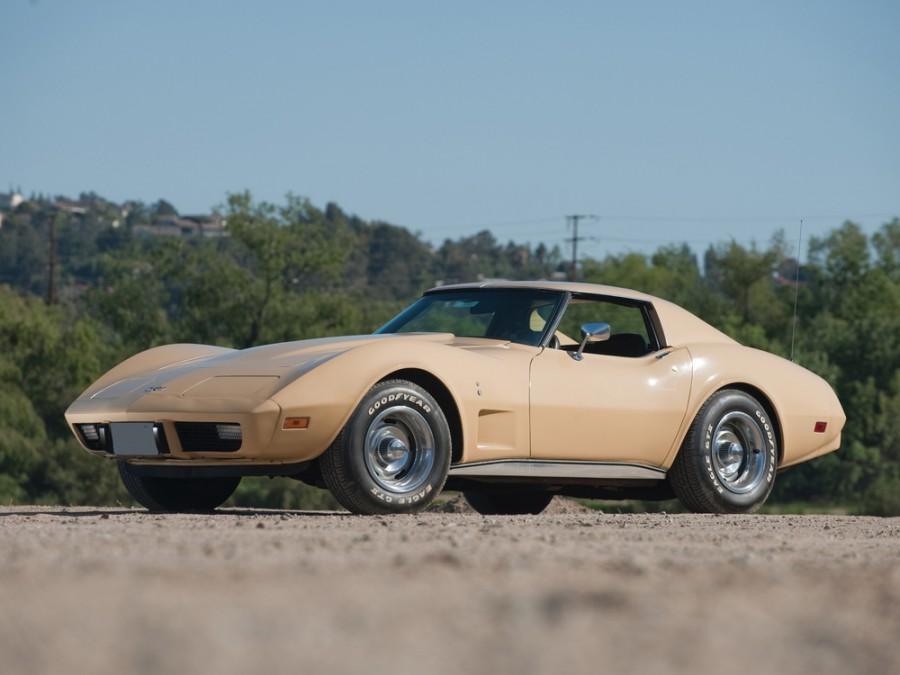 Chevrolet Corvette купе 2-дв., 1975–1979, C3 [3-й рестайлинг] - отзывы, фото и характеристики на Car.ru
