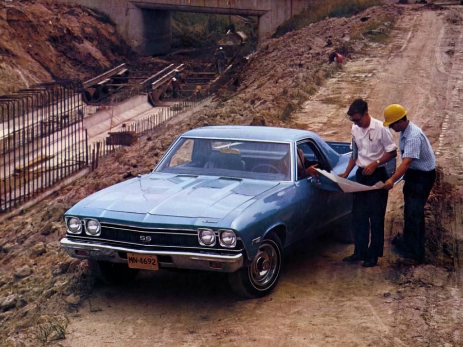 Chevrolet El Camino пикап, 1968, 3 поколение - отзывы, фото и характеристики на Car.ru
