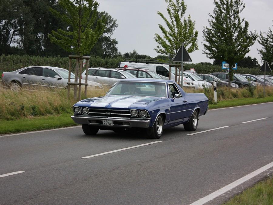 Chevrolet El Camino пикап, 1969, 3 поколение [рестайлинг] - отзывы, фото и характеристики на Car.ru