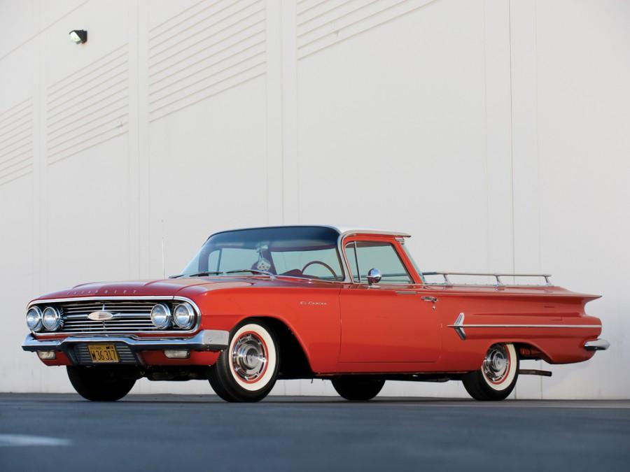 Chevrolet El Camino пикап, 1960, 1 поколение [рестайлинг] - отзывы, фото и характеристики на Car.ru