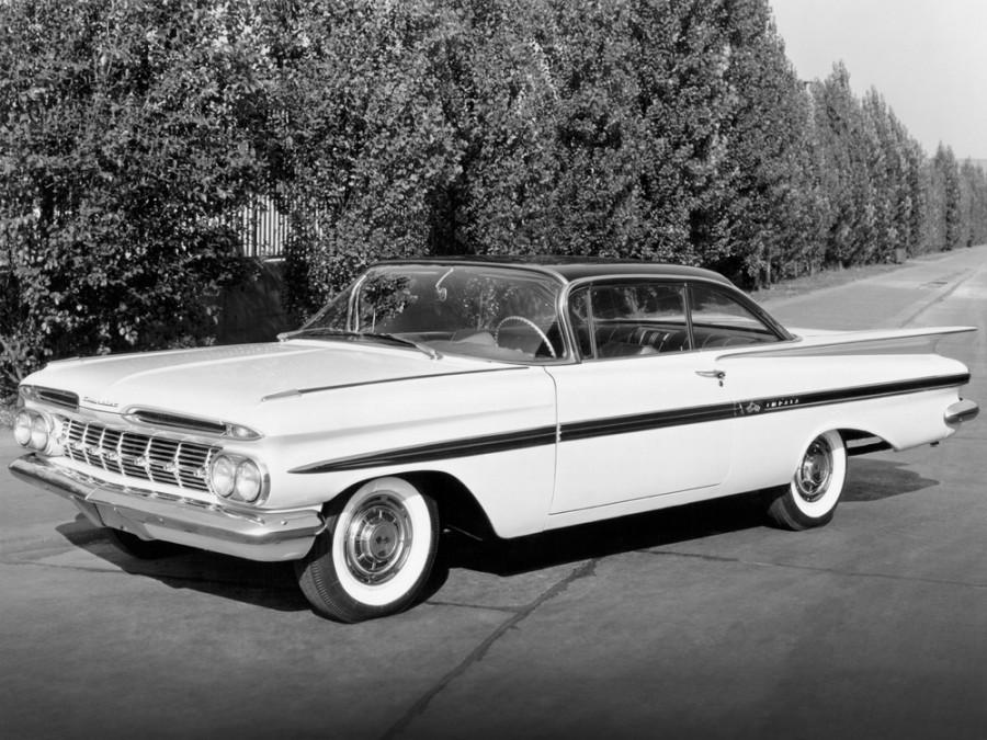 Chevrolet Impala Sport купе, 1959, 2 поколение - отзывы, фото и характеристики на Car.ru