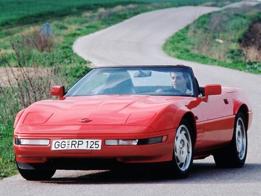 Chevrolet Corvette родстер, 1991–1996, C4 [2-й рестайлинг] - отзывы, фото и характеристики на Car.ru