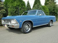 Chevrolet El Camino, 2 поколение [2-й рестайлинг], Пикап, 1966