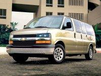Chevrolet Express, 1 поколение [рестайлинг], Микроавтобус, 2003–2016