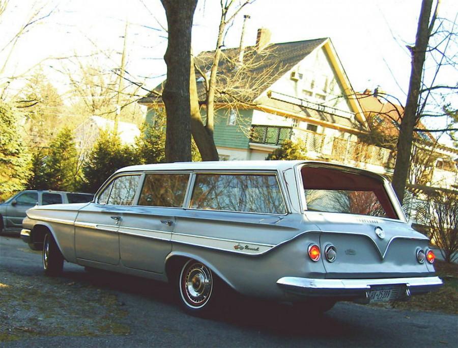 Chevrolet Impala универсал, 1961, 3 поколение - отзывы, фото и характеристики на Car.ru