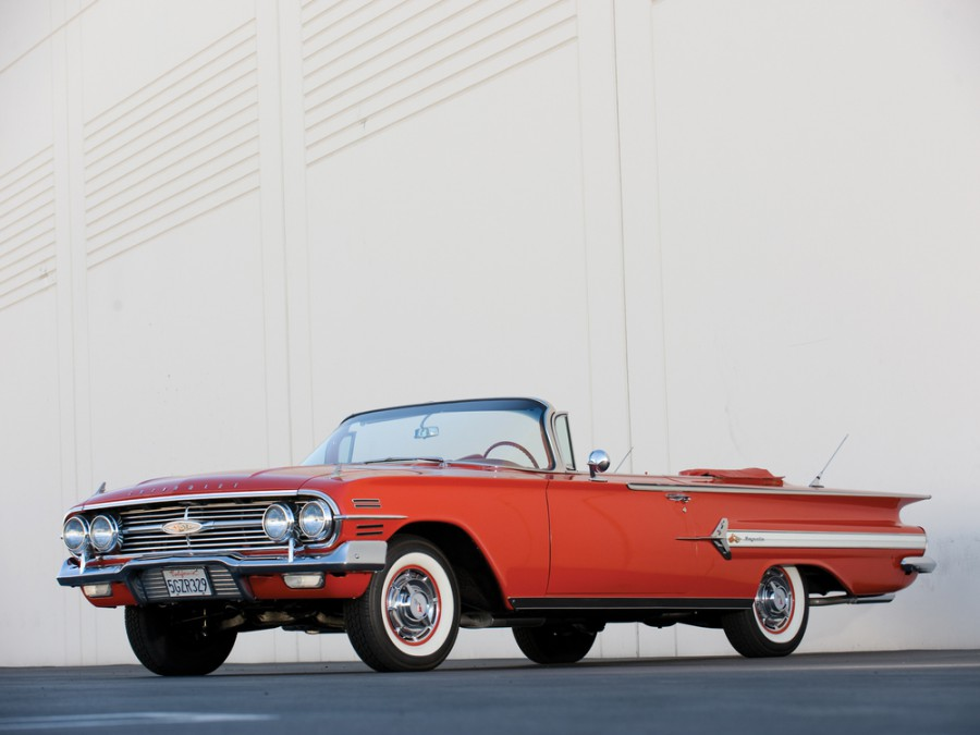 Chevrolet Impala кабриолет, 1960, 2 поколение [рестайлинг] - отзывы, фото и характеристики на Car.ru