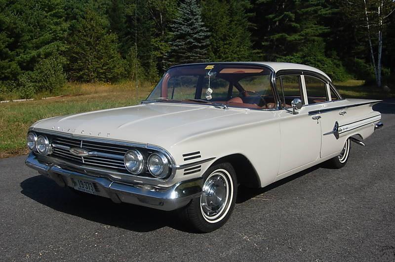 Chevrolet Impala седан, 1960, 2 поколение [рестайлинг] - отзывы, фото и характеристики на Car.ru
