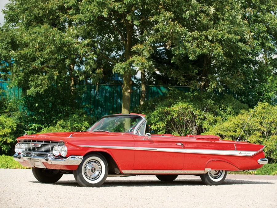 Chevrolet Impala кабриолет, 1961, 3 поколение - отзывы, фото и характеристики на Car.ru