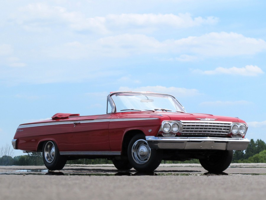 Chevrolet Impala кабриолет, 1962, 3 поколение [рестайлинг] - отзывы, фото и характеристики на Car.ru
