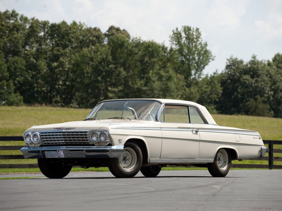 Chevrolet Impala купе, 1962, 3 поколение [рестайлинг] - отзывы, фото и характеристики на Car.ru