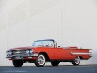 Chevrolet Impala, 1960, 2 поколение [рестайлинг], Кабриолет