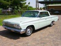 Chevrolet Impala, 1962, 3 поколение [рестайлинг], Хардтоп