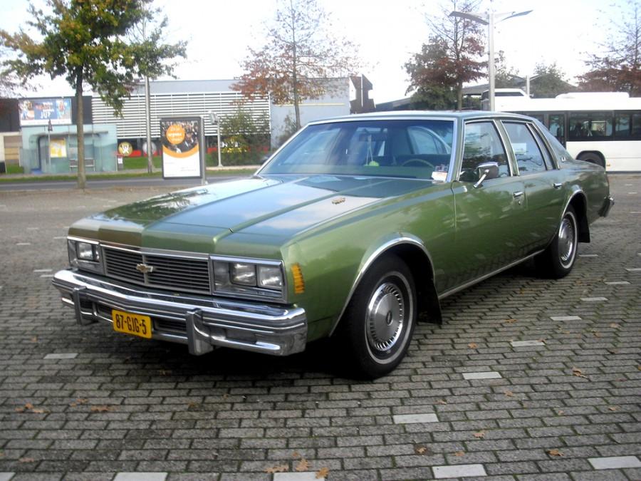 Chevrolet Impala седан, 1979, 6 поколение [2-й рестайлинг] - отзывы, фото и характеристики на Car.ru