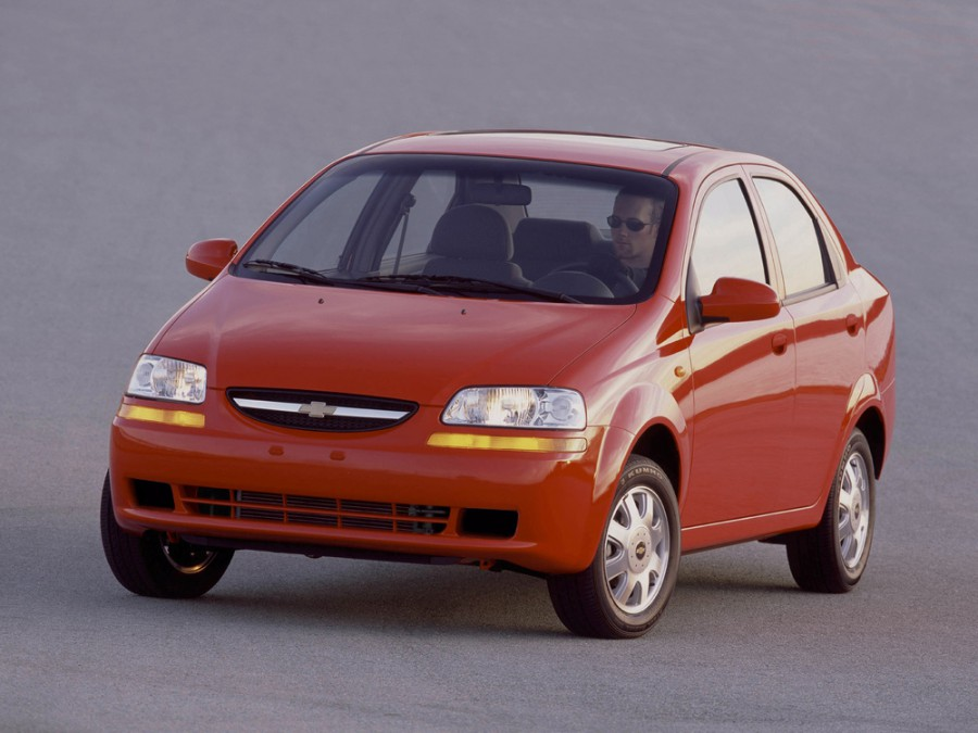 Chevrolet Kalos седан, 2003–2008, 1 поколение - отзывы, фото и характеристики на Car.ru