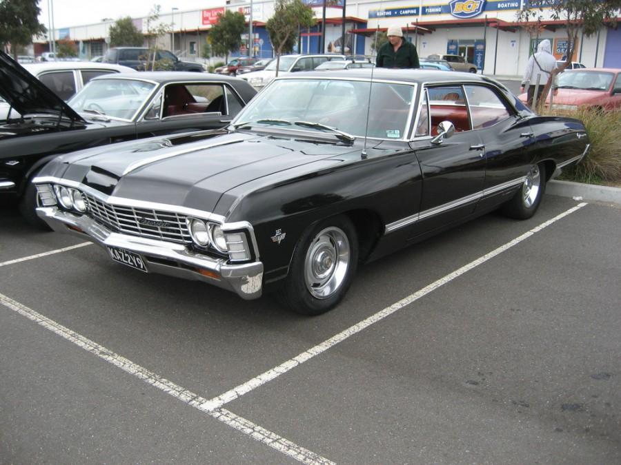 Chevrolet Impala хардтоп, 1967, 4 поколение [2-й рестайлинг] - отзывы, фото и характеристики на Car.ru