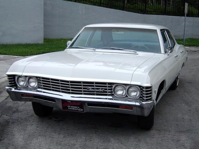 Chevrolet Impala седан, 1967, 4 поколение [2-й рестайлинг] - отзывы, фото и характеристики на Car.ru