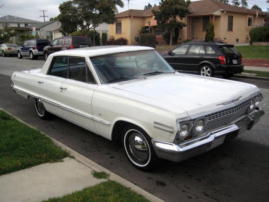 Chevrolet Impala хардтоп, 1963, 3 поколение [2-й рестайлинг] - отзывы, фото и характеристики на Car.ru