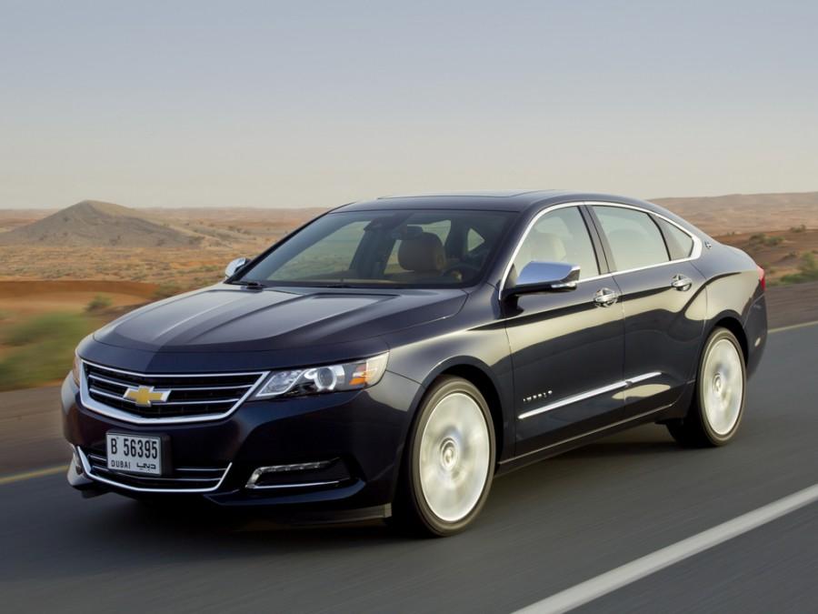 Chevrolet Impala седан, 2014–2016, 10 поколение - отзывы, фото и характеристики на Car.ru
