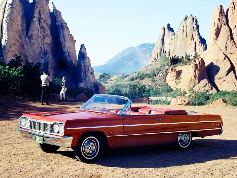 Chevrolet Impala кабриолет, 1964, 3 поколение [3-й рестайлинг] - отзывы, фото и характеристики на Car.ru