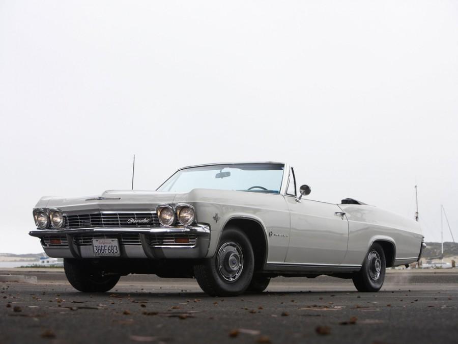 Chevrolet Impala кабриолет, 1965, 4 поколение - отзывы, фото и характеристики на Car.ru