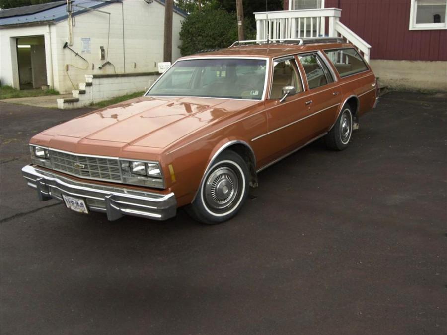 Chevrolet Impala универсал, 1977, 6 поколение - отзывы, фото и характеристики на Car.ru