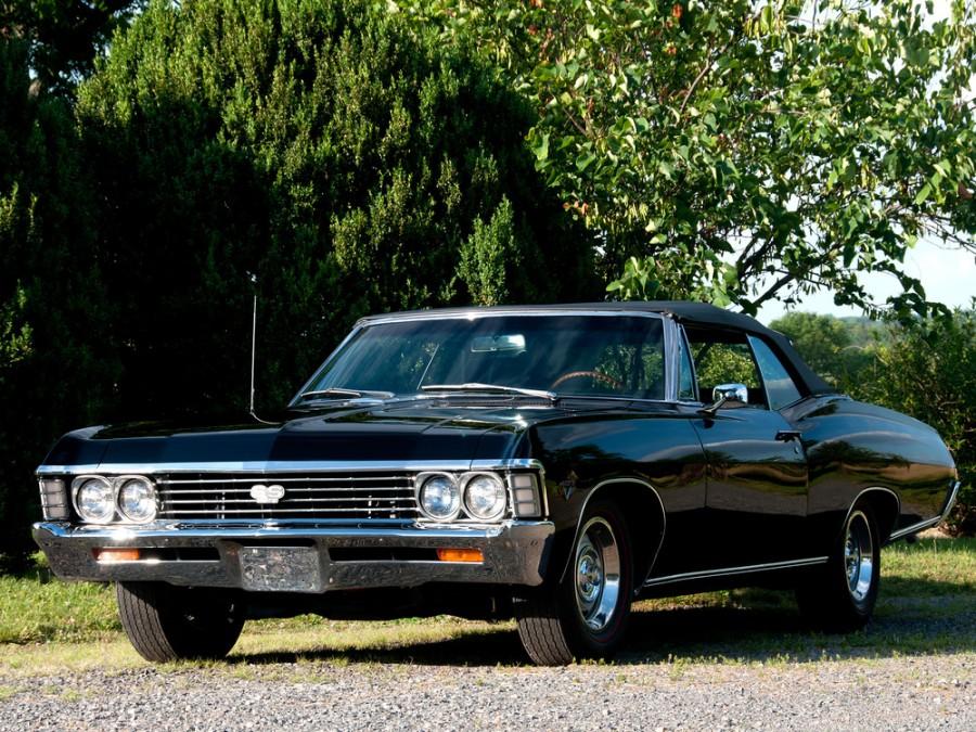 Chevrolet Impala кабриолет, 1967, 4 поколение [2-й рестайлинг] - отзывы, фото и характеристики на Car.ru