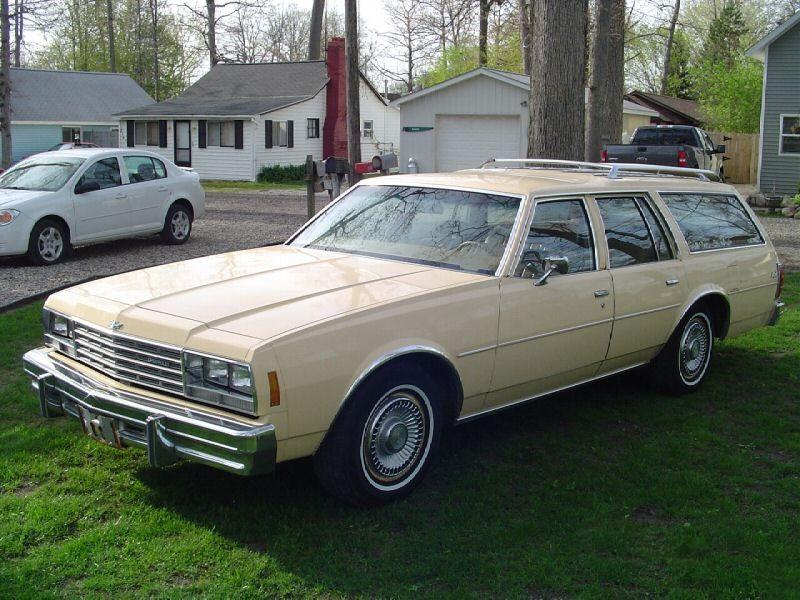 Chevrolet Impala универсал, 1978, 6 поколение [рестайлинг] - отзывы, фото и характеристики на Car.ru