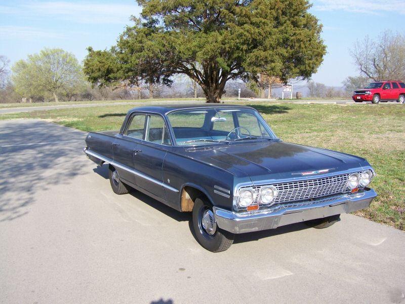 Chevrolet Impala седан, 1963, 3 поколение [2-й рестайлинг] - отзывы, фото и характеристики на Car.ru