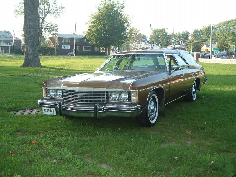 Chevrolet Impala универсал, 1974, 5 поколение [3-й рестайлинг] - отзывы, фото и характеристики на Car.ru