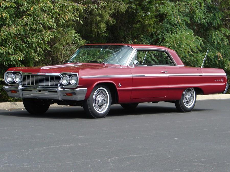 Chevrolet Impala купе, 1964, 3 поколение [3-й рестайлинг] - отзывы, фото и характеристики на Car.ru
