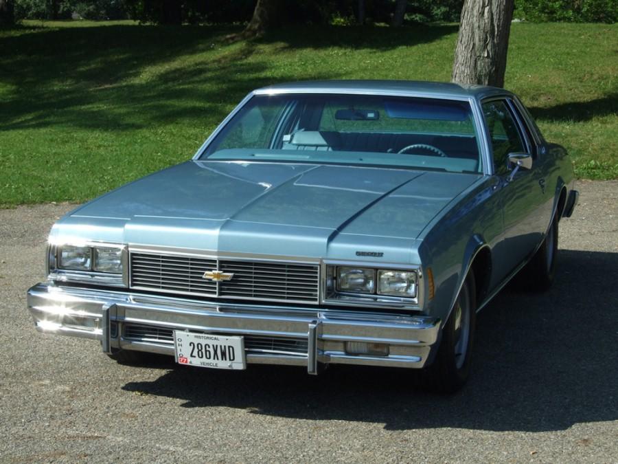 Chevrolet Impala купе, 1979, 6 поколение [2-й рестайлинг] - отзывы, фото и характеристики на Car.ru