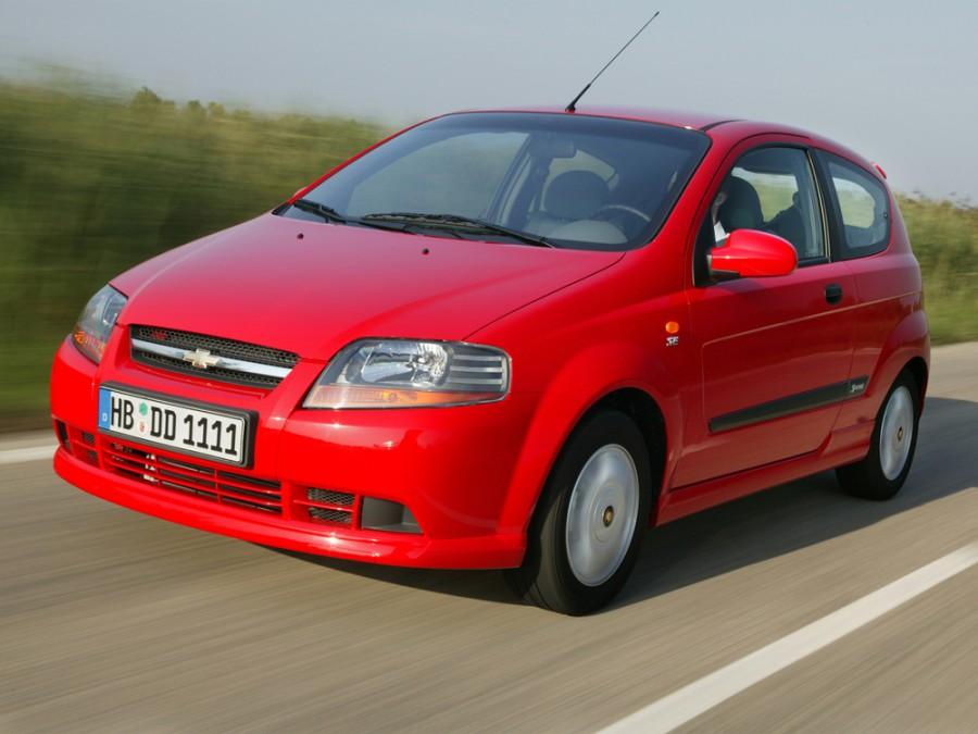 Chevrolet Kalos хетчбэк, 2003–2008, 1 поколение - отзывы, фото и характеристики на Car.ru