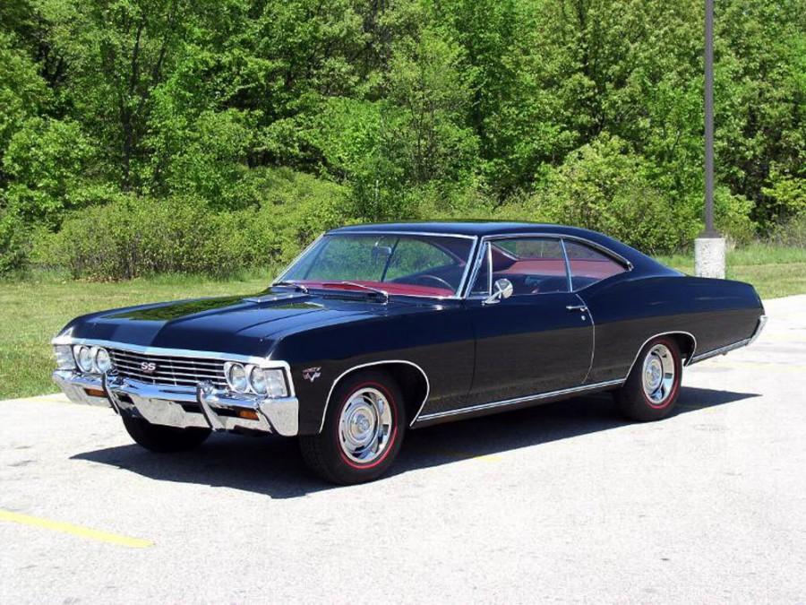 Chevrolet Impala купе, 1967, 4 поколение [2-й рестайлинг] - отзывы, фото и характеристики на Car.ru