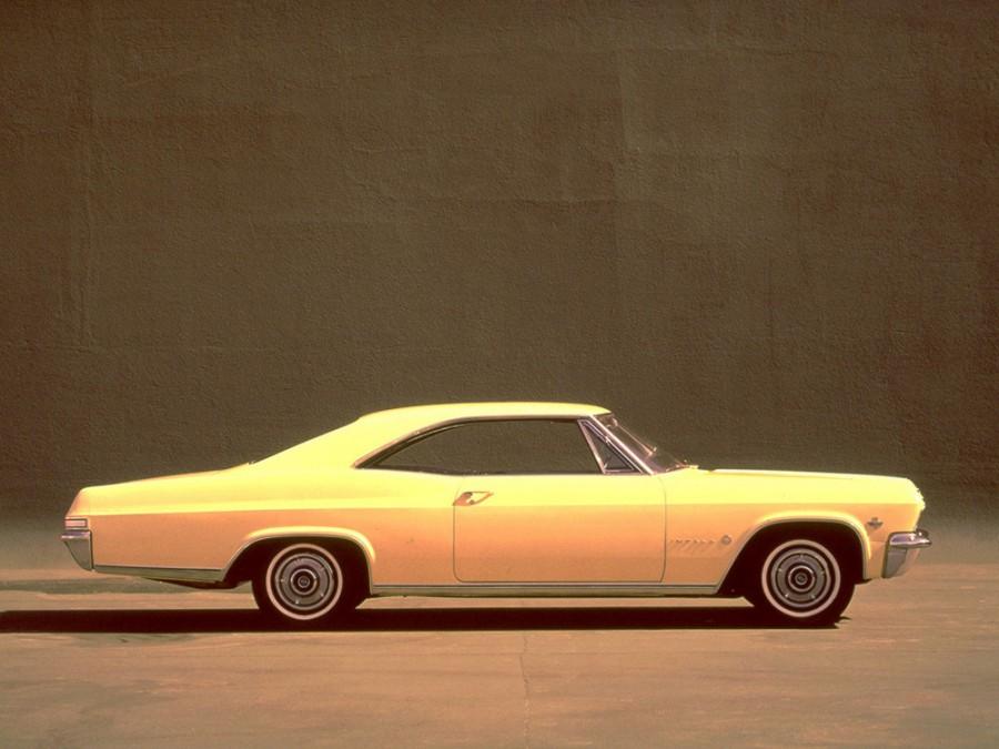 Chevrolet Impala купе, 1965, 4 поколение - отзывы, фото и характеристики на Car.ru