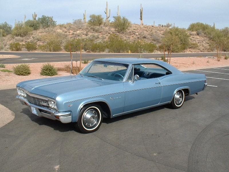 Chevrolet Impala купе, 1966, 4 поколение [рестайлинг] - отзывы, фото и характеристики на Car.ru