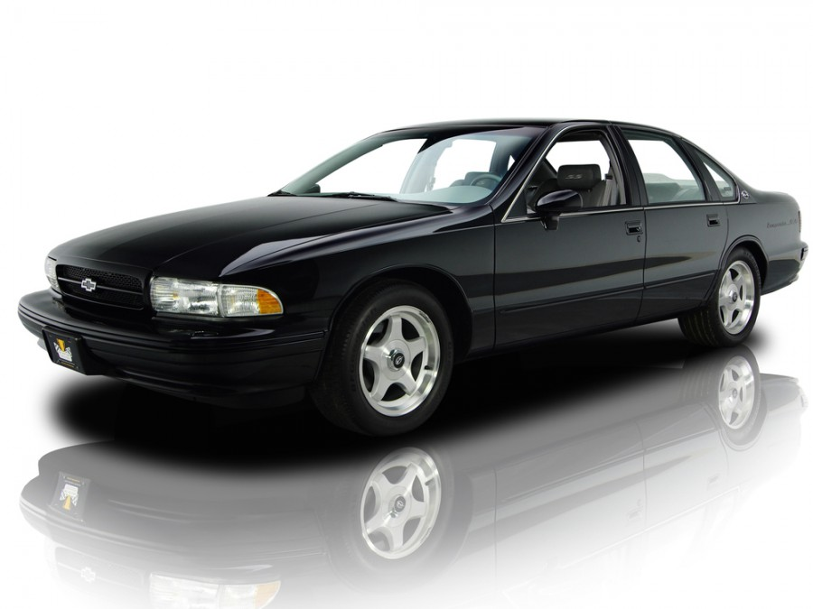 Chevrolet Impala седан, 1994–1996, 7 поколение - отзывы, фото и характеристики на Car.ru